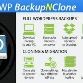 WP Backup N Clone - Time Machine